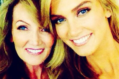@deltagoodrem: HAPPY BIRTHDAY to my beautiful Mumma @LeaGoodrem I love you so much #thankful4family #superwoman #birthdaywishesandkisses