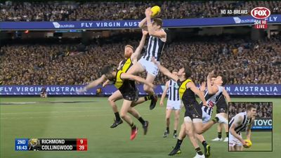 Extraordinary performance from American native Mason Cox as Collingwood upset Richmond