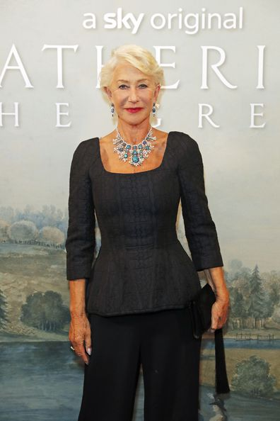 Dame Helen Mirren, afterparty, Catherine The Great