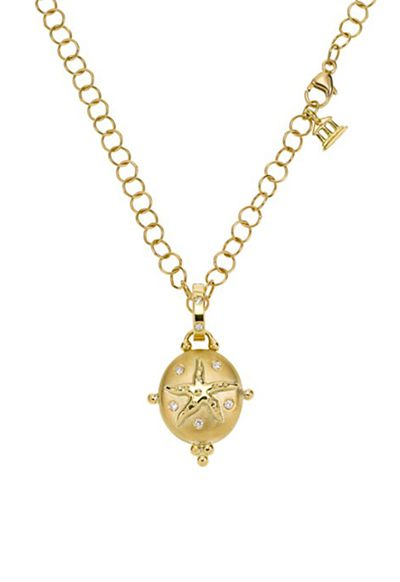 "<a href=""http://www1.bloomingdales.com/shop/product/temple-st.-clair-18k-yellow-gold-small-sea-star-locket-with-diamonds?ID=1066556&"" target=""_blank"">Locket, $4228.40, Temple St Clair at bloomingdales.com</a>"