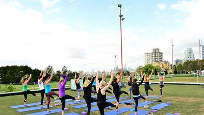 Yoga at The Greens, Sydney
