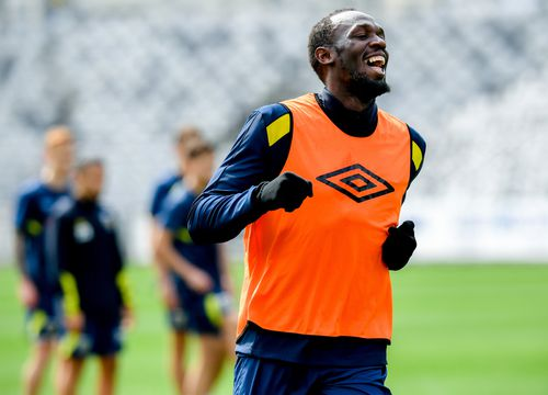 More than 12,000 people are expected to attend the game to see whether Bolt truly has what it takes to make it in the A-League.
