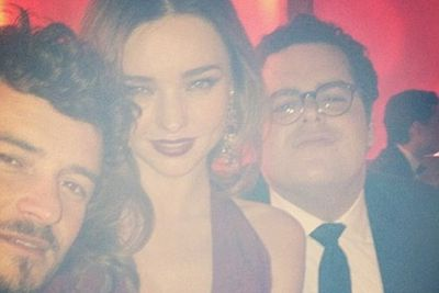 Who is that random guy?<br/><br/>Image: Miranda Kerr/Instagram