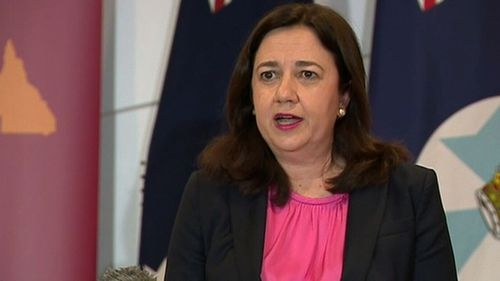 Annastacia Palaszczuk confirmed borders would be strengthened against Victoria but opened for other states.