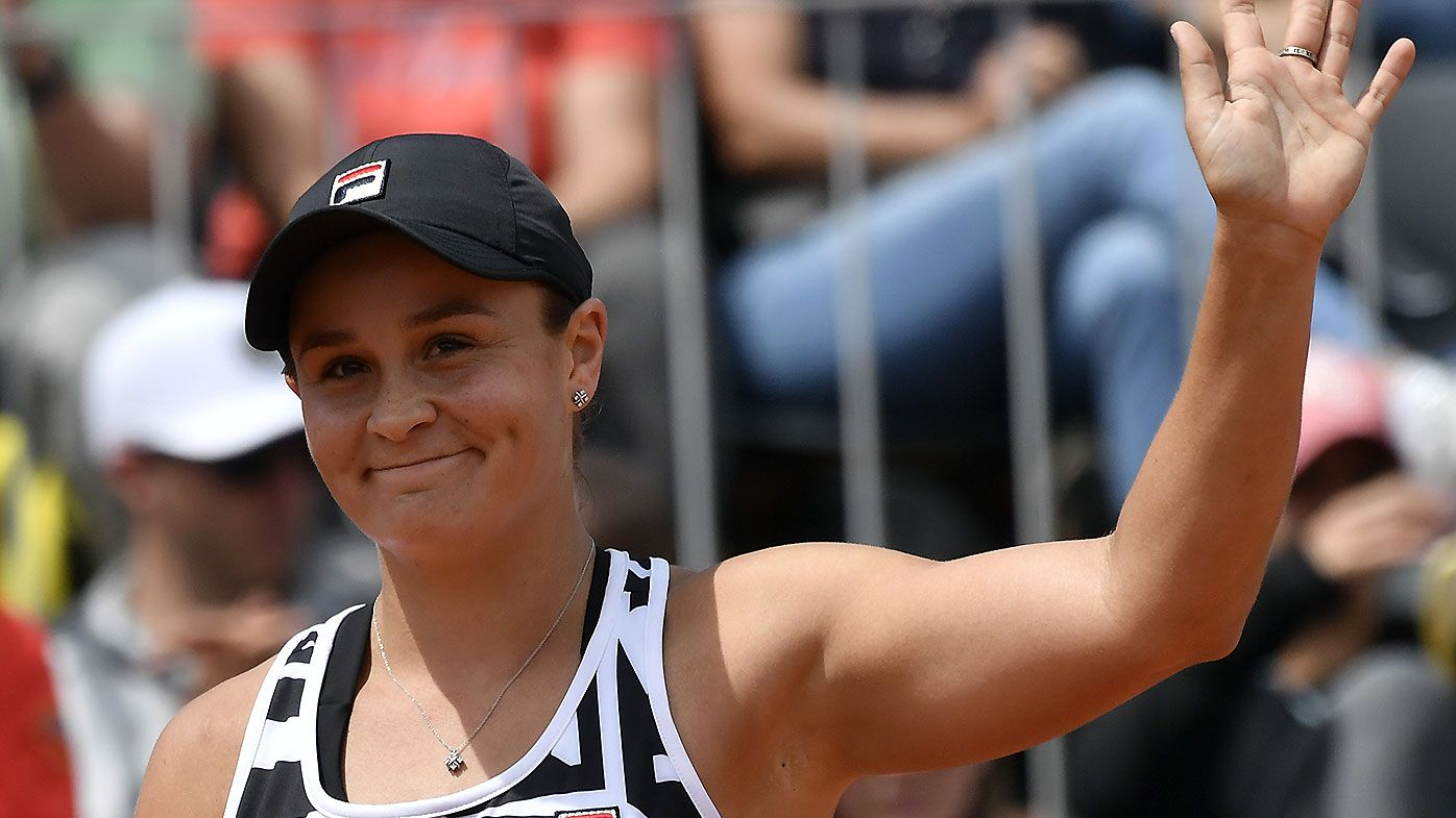 Ashleigh Barty eyeing top five ranking after dominant win over Danielle Collins
