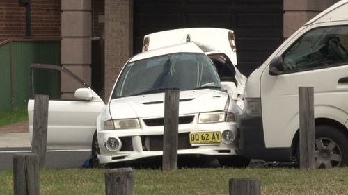 The 45-year-old driver of the other car, a Honda SUV, was also taken to hospital with minor injuries. (9NEWS)