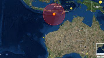 Indonesia earthquakes Indian Ocean