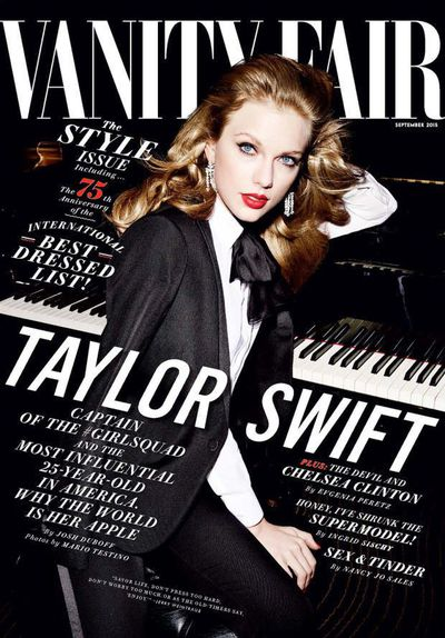 Taylor Swfit for <em>Vanity Fair</em> September 2015