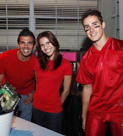 Lea Michele, Monica Moskatow, lookalike, glee