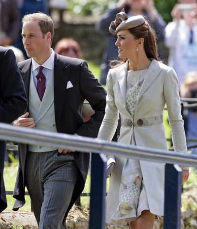 In June 2012, Kate joined Will for his cousin Emily McCorquodale's wedding to James Hutt.