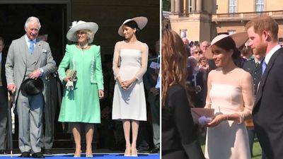 Meghan makes a royal debut