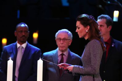 Prince William Kate Middleton Holocaust Memorial Day service