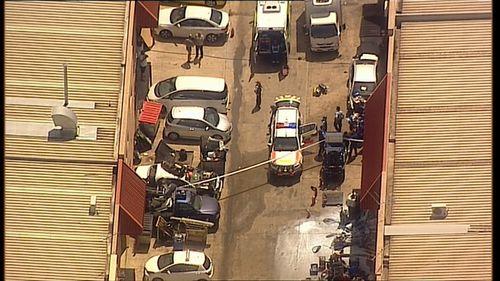 Five NSW Ambulance paramedics were called to the scene.