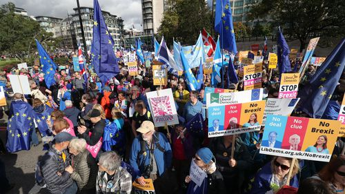 Brexit protests 8