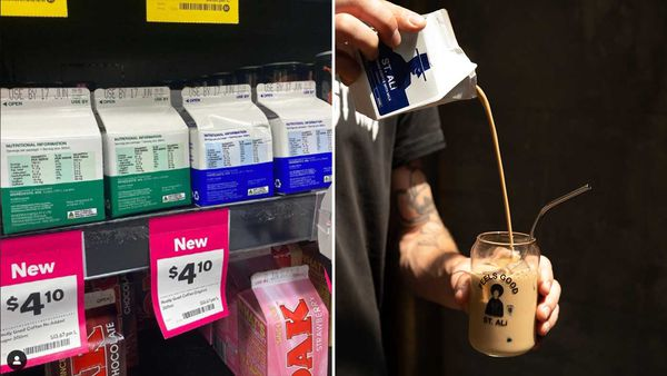 Shopper frenzy over posh new $4 Woolworths iced coffee