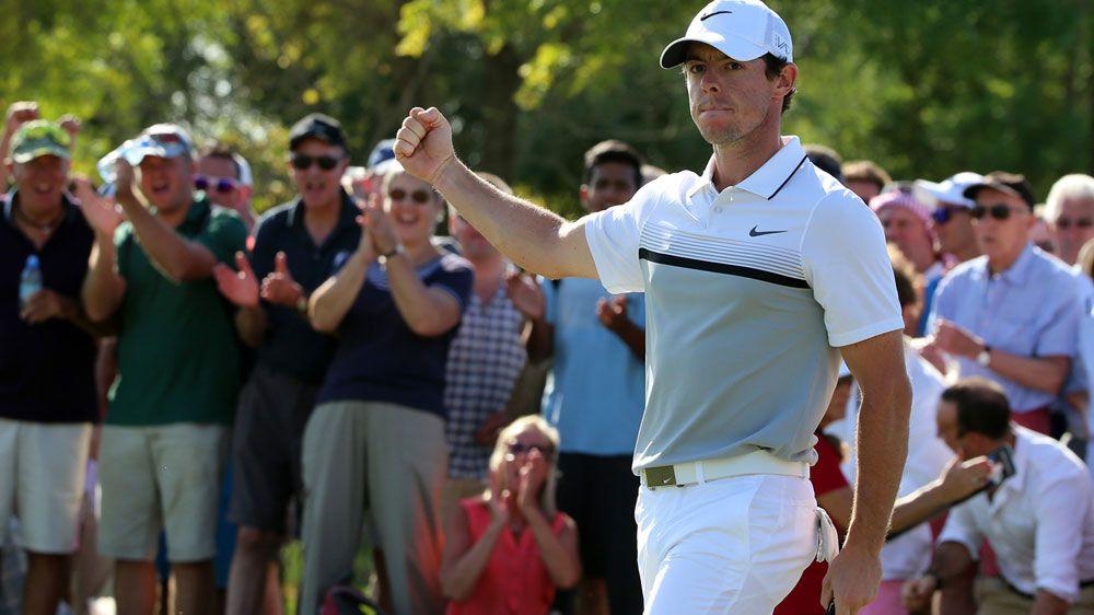 Rory McIlroy. (AFP)