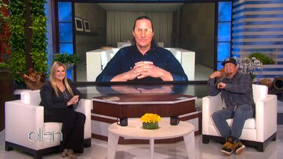 Matthew McConaughey discusses his wife Camila Alves on Ellen