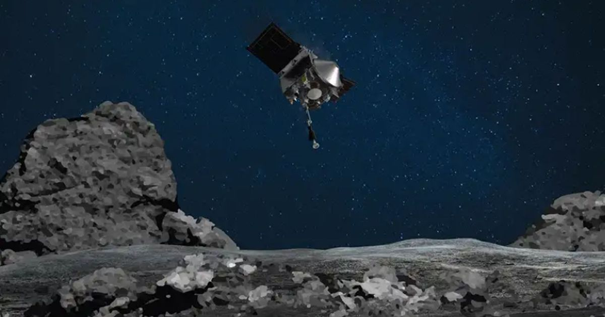 NASA hopes landing on asteroid will shed new light on mysterious space rock – 9News