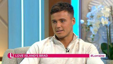 Love island UK 2021 Lorraine Brad McClelland