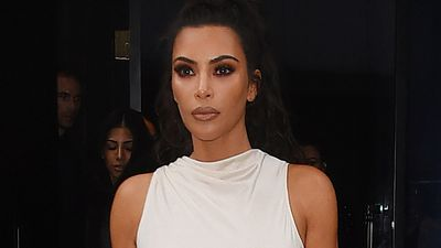 Kim Kardashian steps out with her riskiest hair colour yet