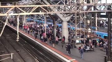 Track faults trigger major delays on Melbourne train network