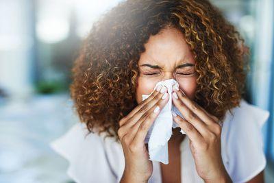 1. Getting sick