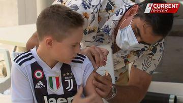 Brisbane GP opens backyard clinic for flu vaccinations
