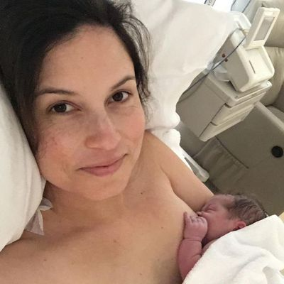 Missy Higgins is smitten with her new daughter