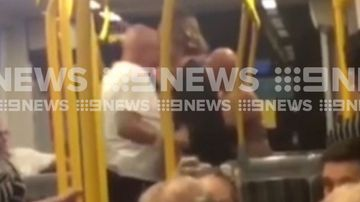 Elderly man headbutts teenager on late night tram