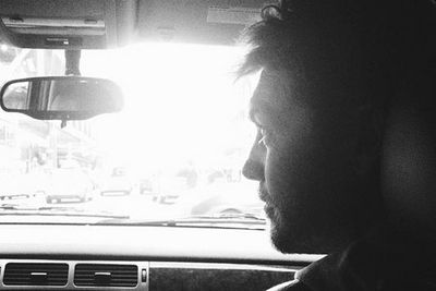 On September 29, Lara posted an Insta-pic of the <i>Clash of the Titans</i> star in the front seat of her car, calling him 'The Fearless Navigator.' <br/><br/>Source: Lara Bingle/Instagram