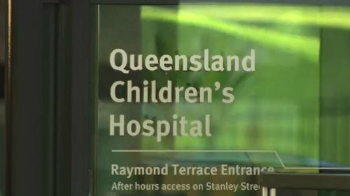 The newly renamed Queensland's Children Hospital.