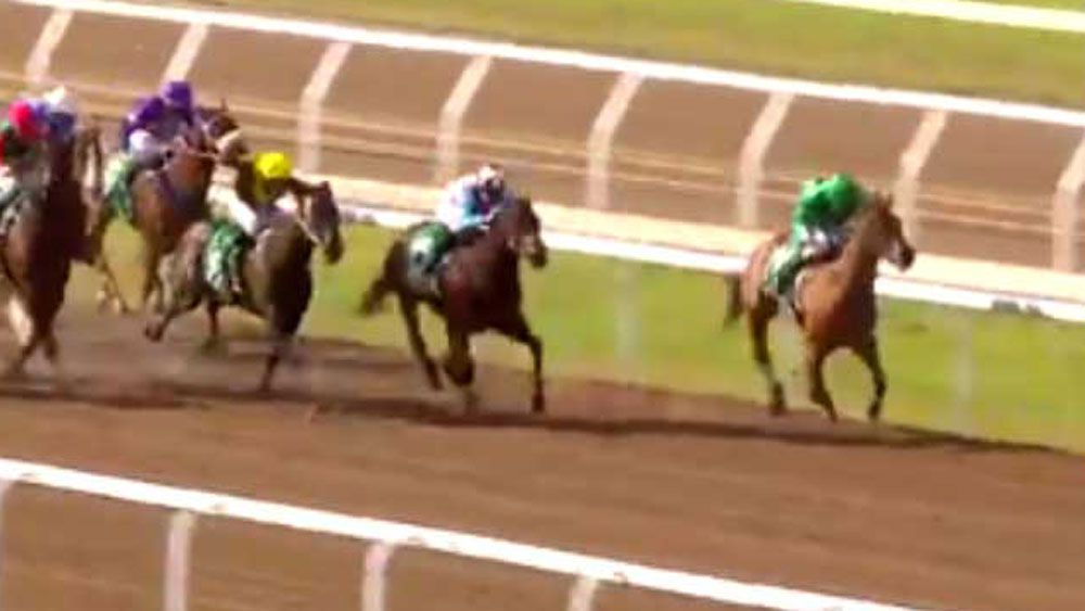 Oscietra scored a maiden win at Geelong on Friday.