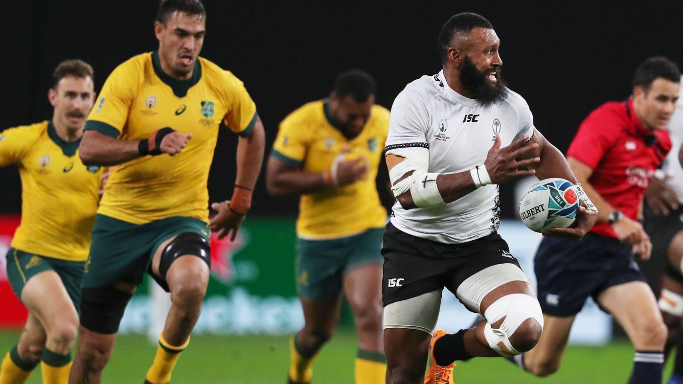 Wallabies looked no better than quarter-finalists against Fiji, says Peter FitzSimons