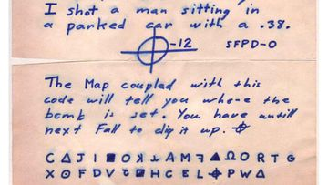 The Z 32 cipher instructed readers to use it in combination with a map.