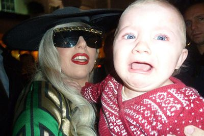 Don't let your kid near Lady Gaga.