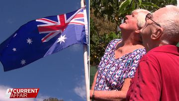 Sunshine Coast couple told they can't fly Australian flag in backyard