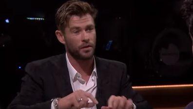 Chris Hemsworth.