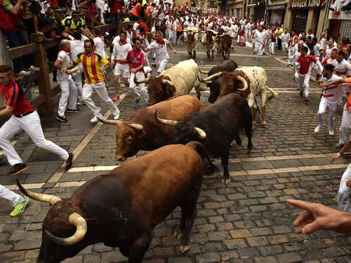 The five men, all Spanish citizens between 27 and 30, were friends who travelled to Pamplona to party during the San Fermin festival in July 2016.
