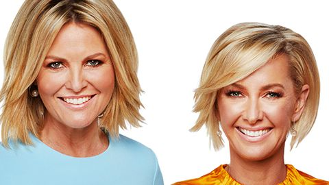 Georgie Gardner and Deb Knight