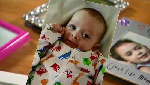 Kye was just 10 weeks old when he died.