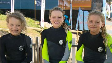 Surfing Groms