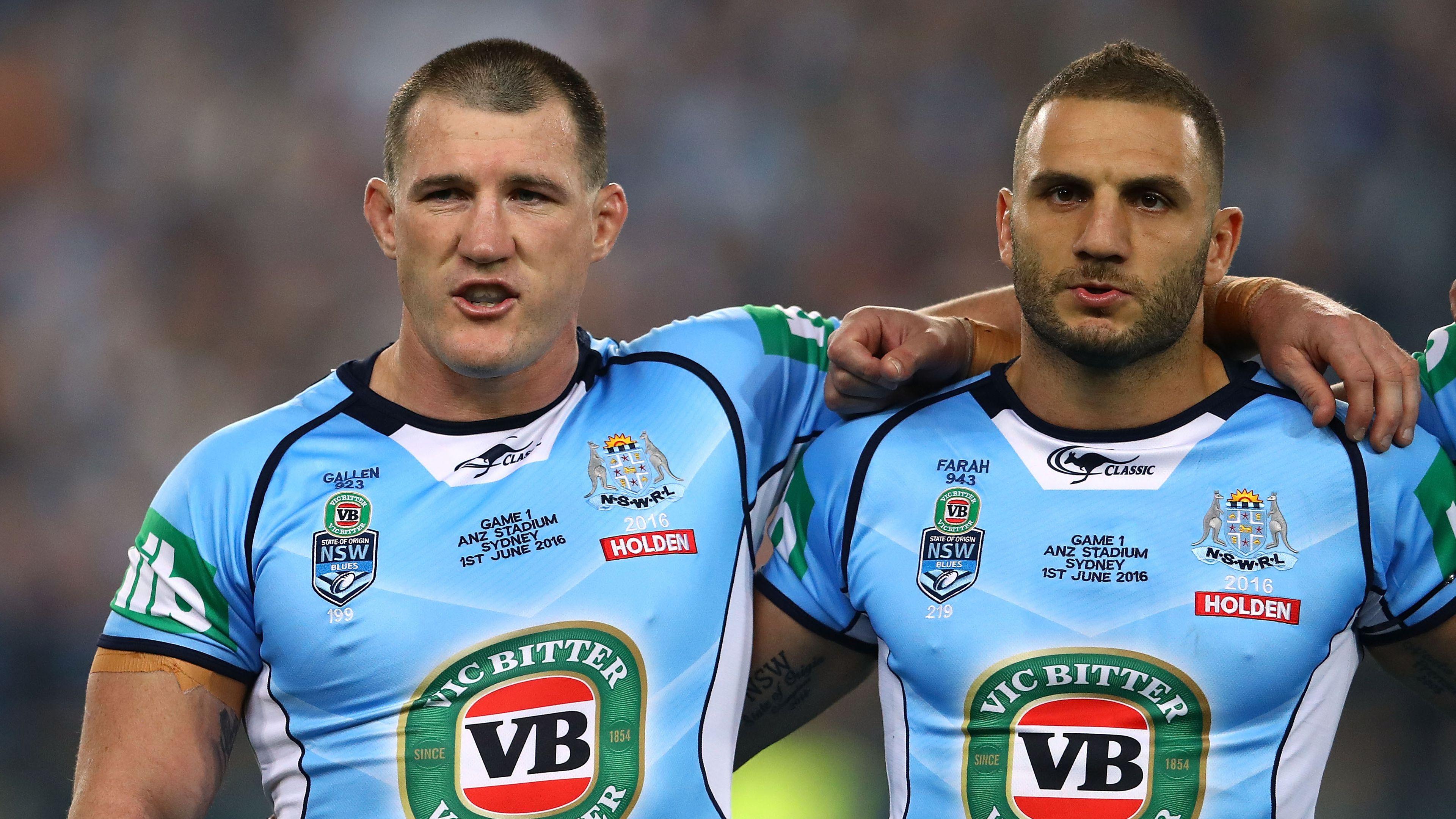 Paul Gallen names his all-time NSW Blues Origin team