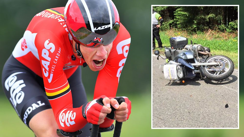Belgian rider Broeckx in coma after crash