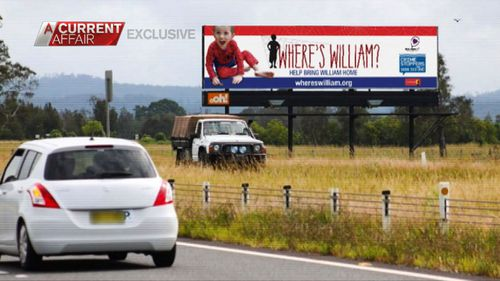 No trace of William has yet been found.