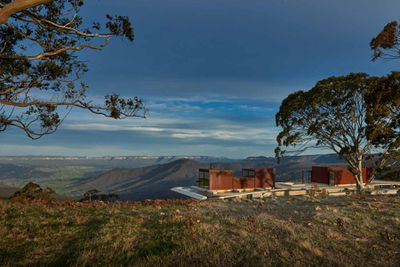 <strong>Invisible House, Hampton, Blue Mountains<br /> Architect: Peter Stutchbury<br /> Price: $4.8 million - $5.2 million</strong>