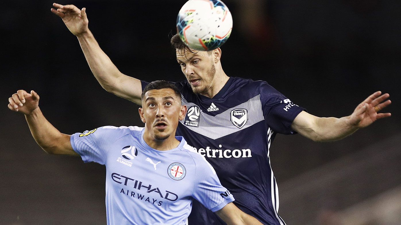 Glass half full for Melbourne Victory, City coaches after round one derby draw