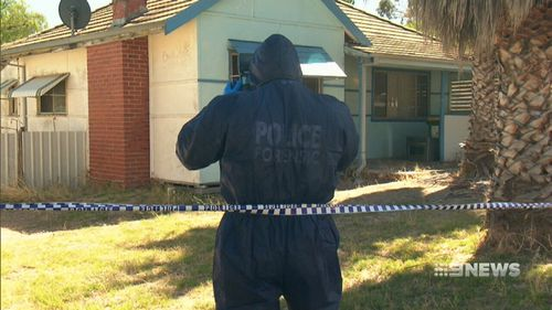 The 19-year-old woman, who has not been named, was found with wounds to her throat and back. (9NEWS)