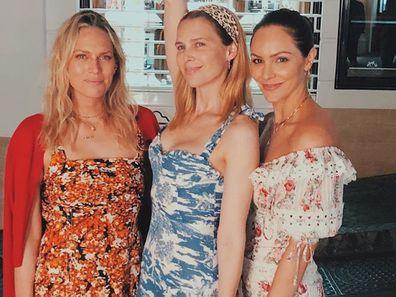 Erin Foster, Sara Foster and Katharine McPhee