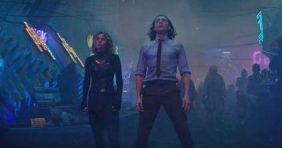 Tom Hiddleston, Loki, Sophia Di Martino, Sylvie
