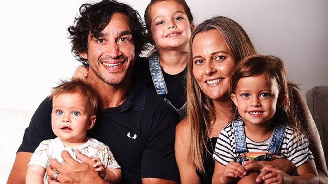 Retiring NRL star Johnathan Thurston announces newest addition to family